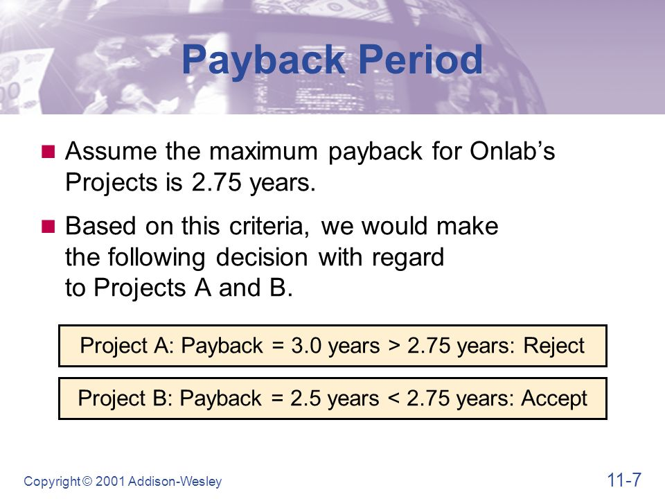 Payback Period Pros and Cons of Payback