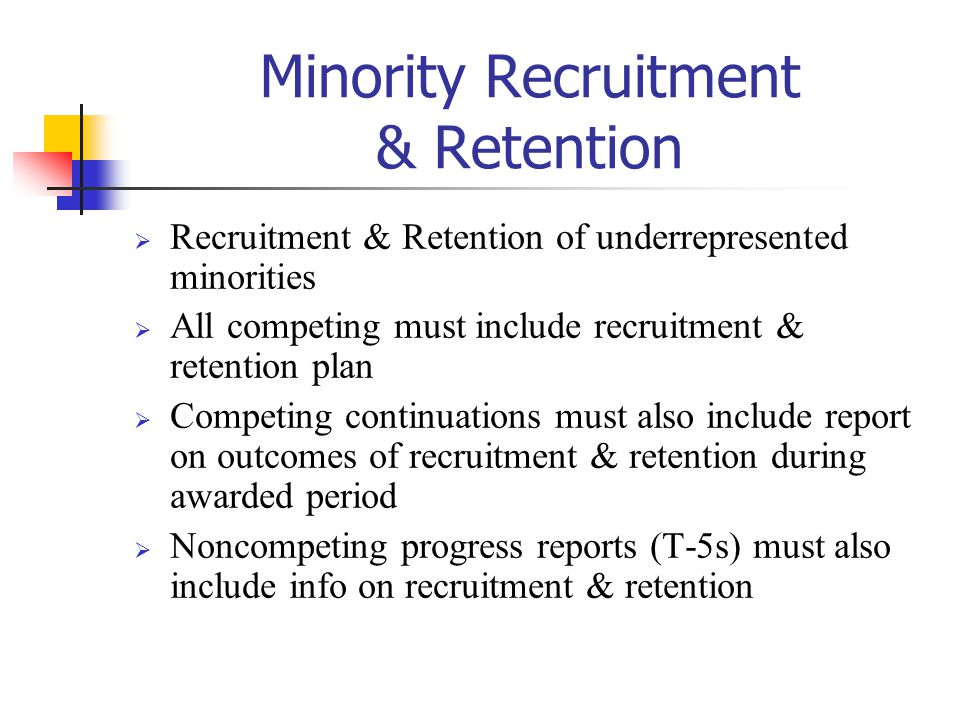 Minority Recruitment & Retention