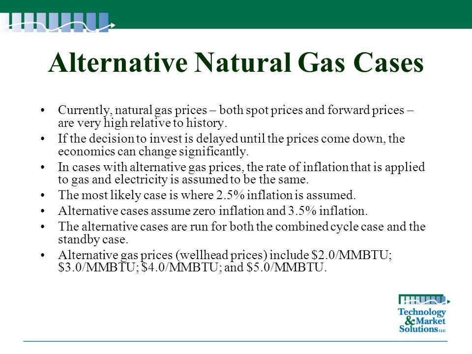 Alternative Natural Gas Cases
