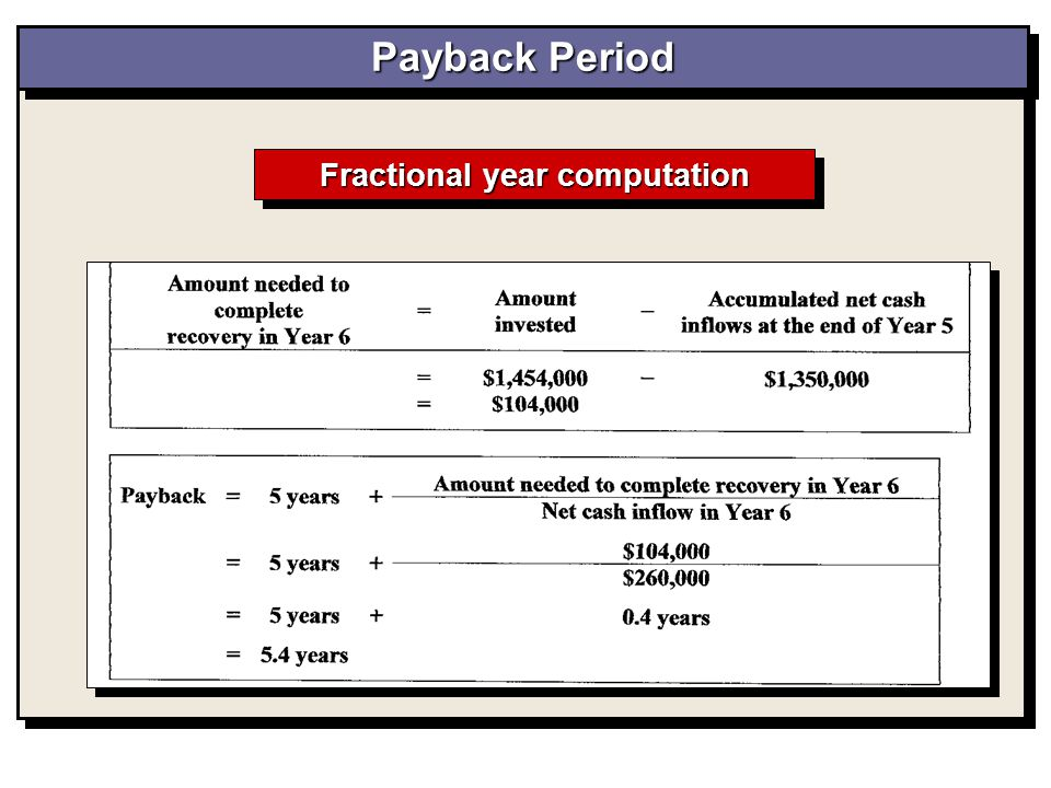 Fractional year computation