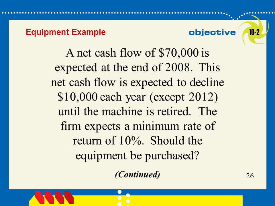 Equipment Example 10-2.