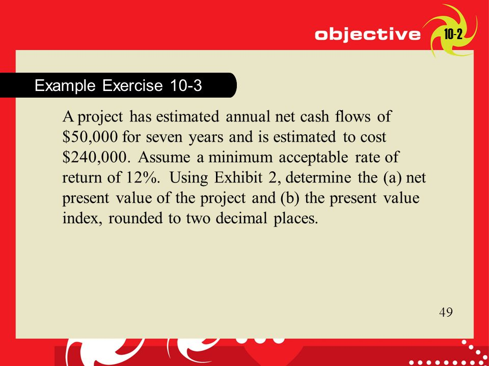 10-2 Example Exercise 10-3.