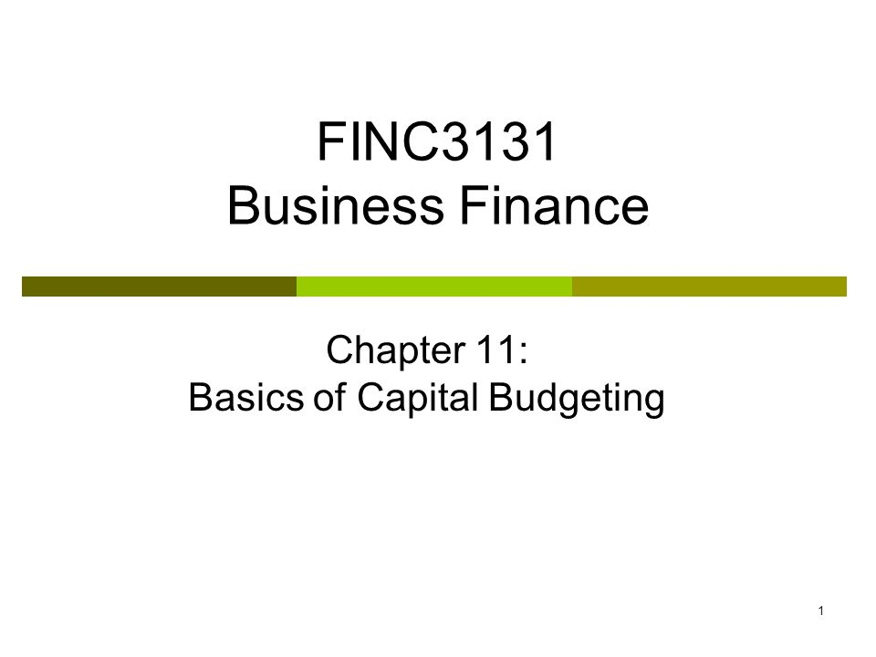 FI 3300 - Corporate Finance leng Ling