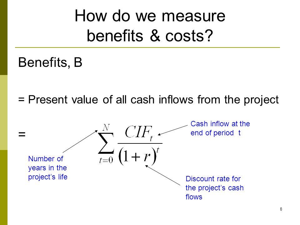 How do we measure benefits & costs