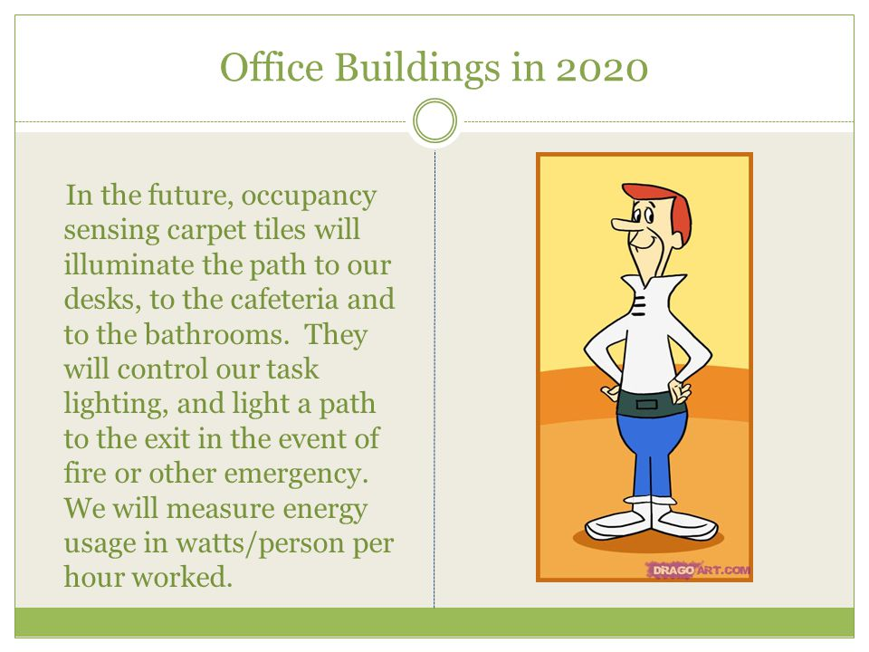 Office Buildings in 2020