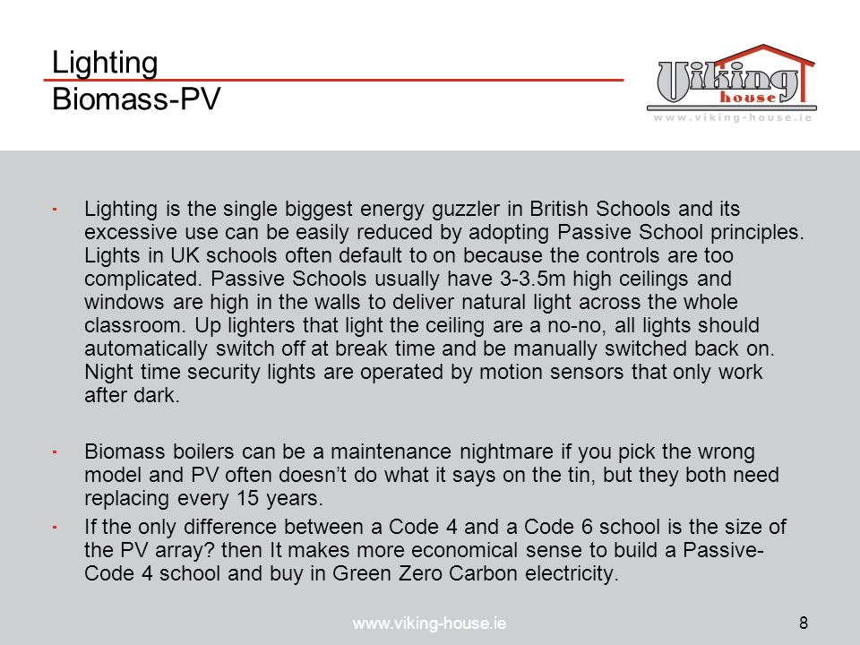 Lighting Biomass-PV