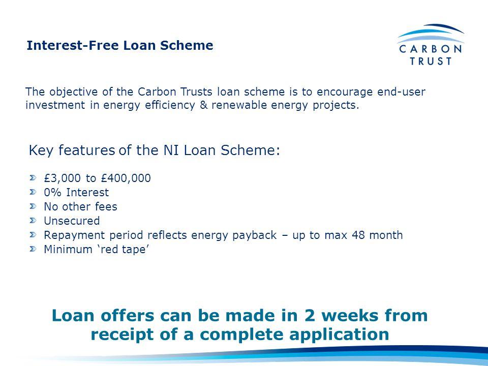 Interest-Free Loan Scheme