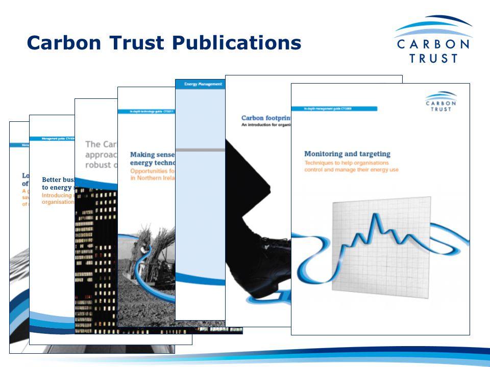 Carbon Trust Publications