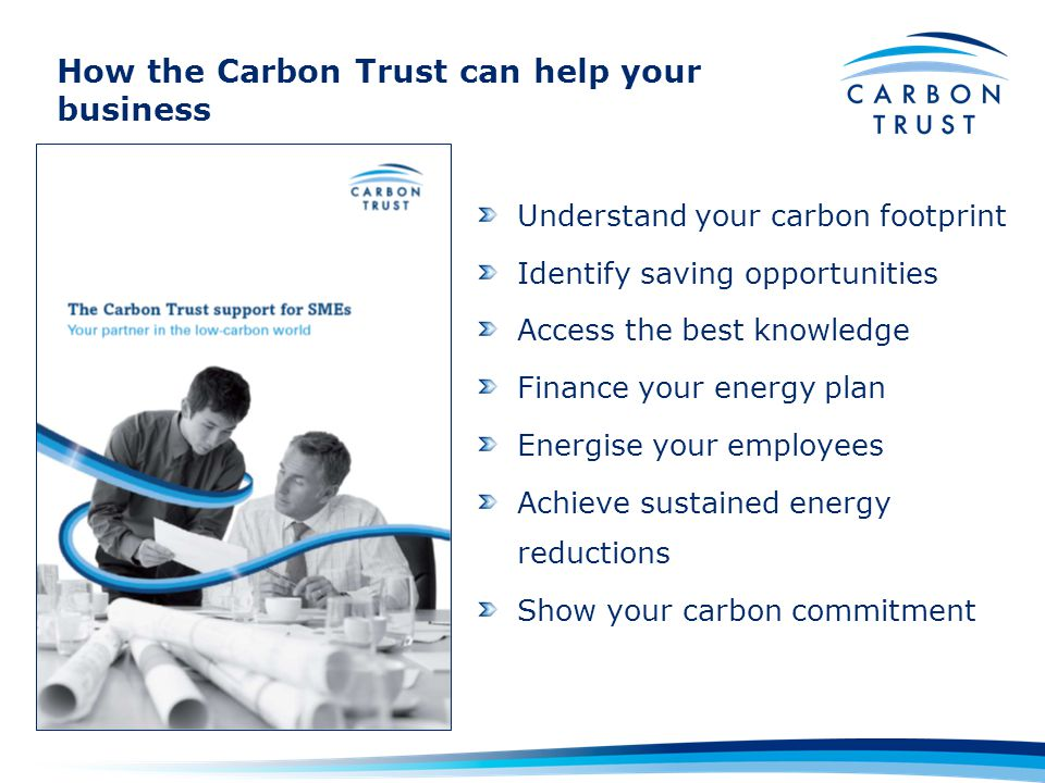 How the Carbon Trust can help your business