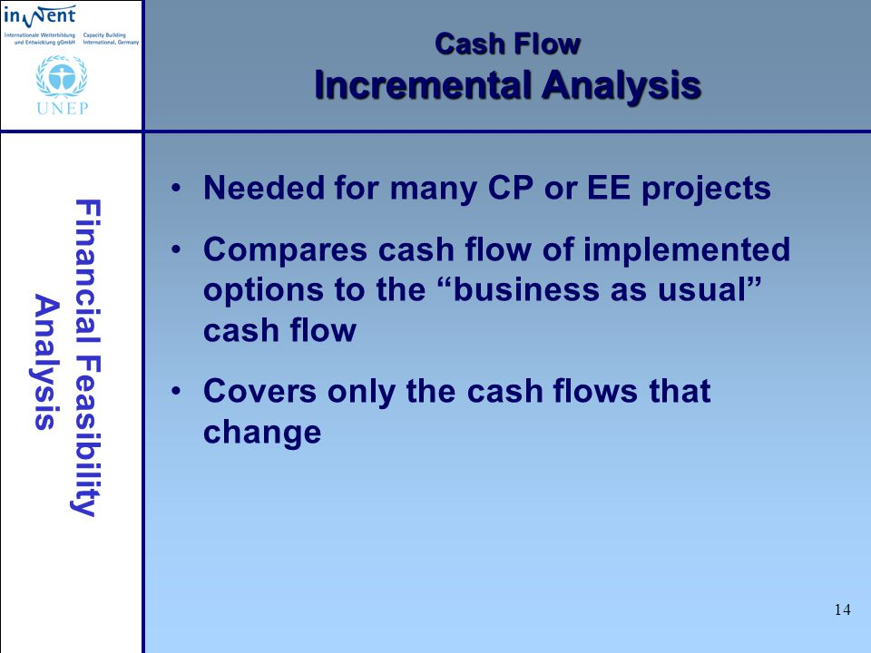 Cash Flow Incremental Analysis
