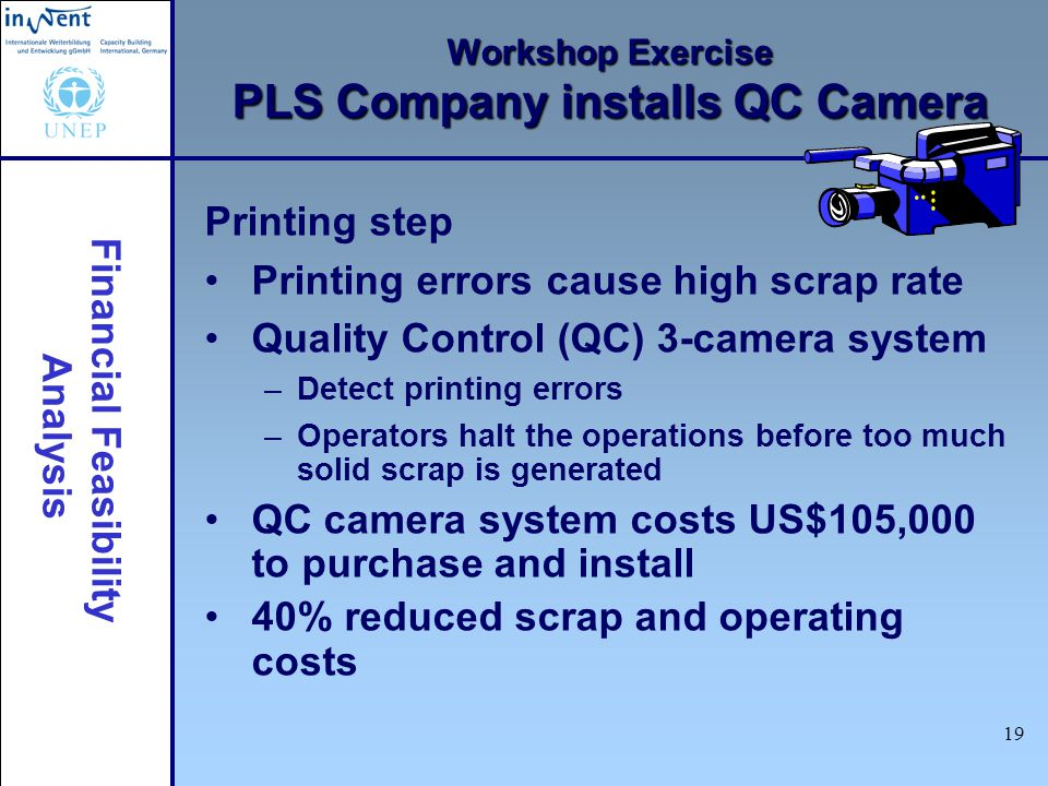 Workshop Exercise PLS Company installs QC Camera