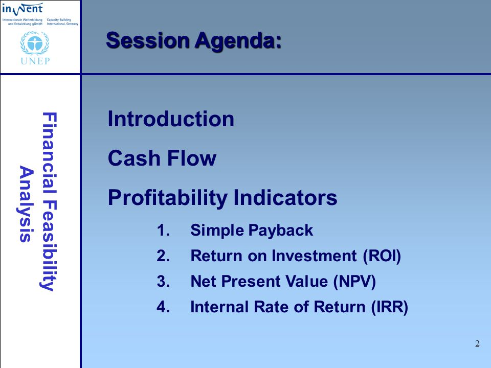 an introduction to the analysis of the net present value npv A student's guide to cost-benefit analysis for net present value (npv (you must think of the terms anet present value@ and anet present benefits.