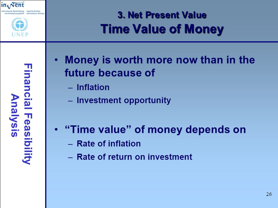 3. Net Present Value Time Value of Money