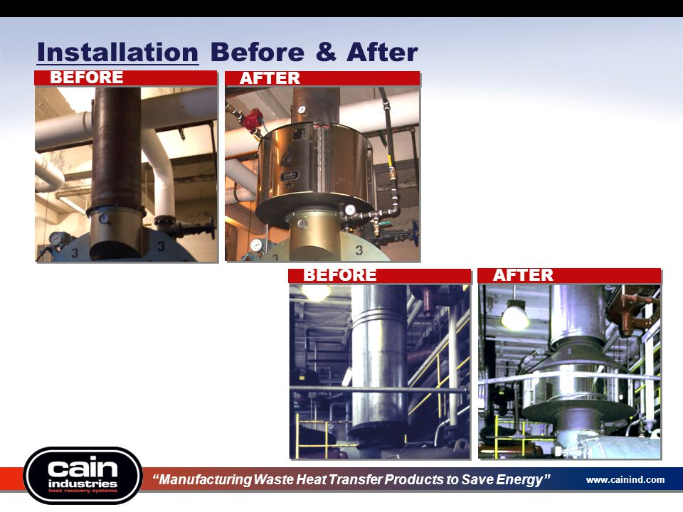 Installation Before & After
