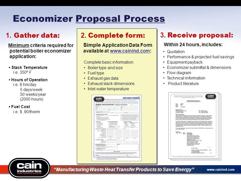 Economizer Proposal Process