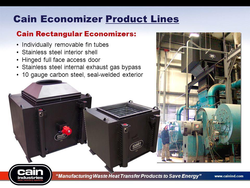 Cain Economizer Product Lines