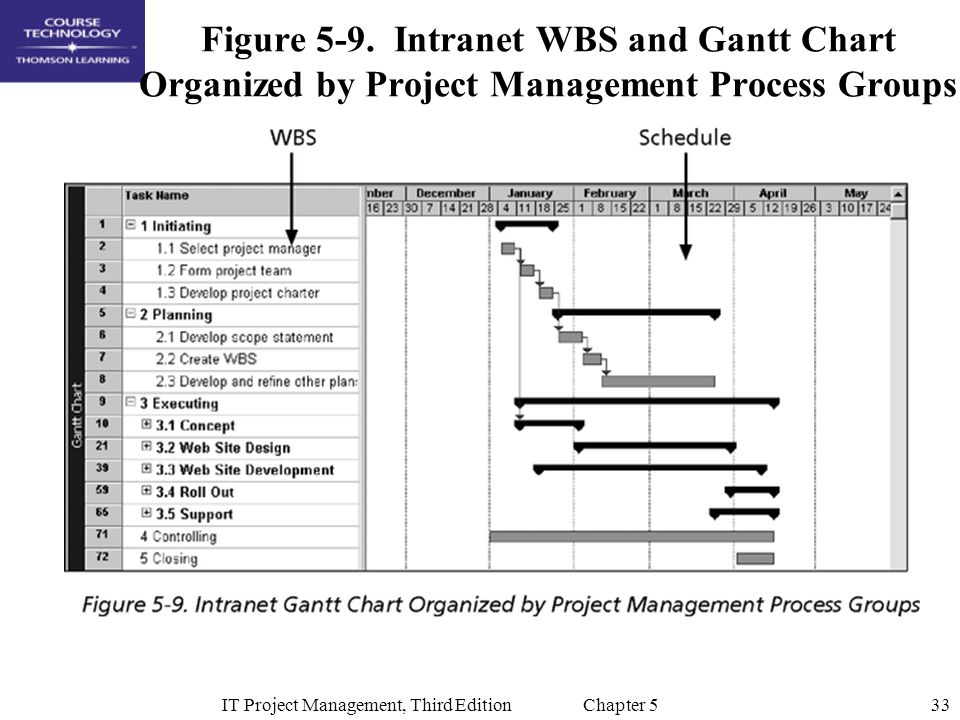 IT Project Management, Third Edition Chapter 5