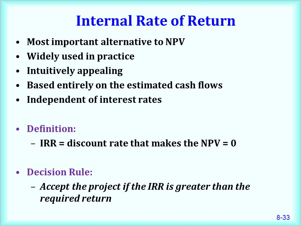 investment rate of return and current A rate of return is the gain or loss on an investment over a specified time period, expressed as a percentage of the investment's cost.