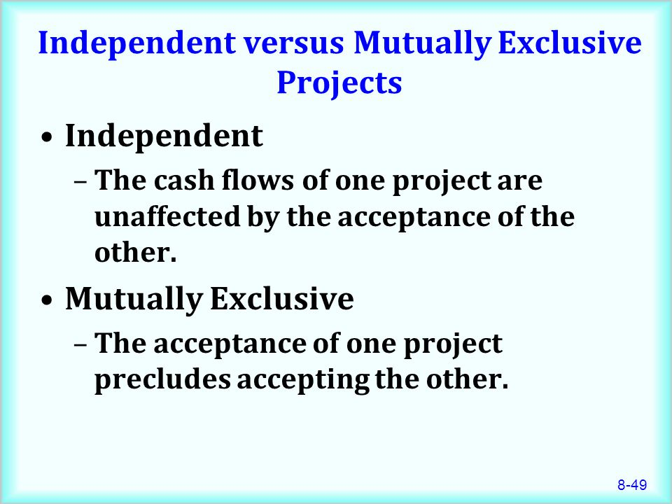 net present value and question