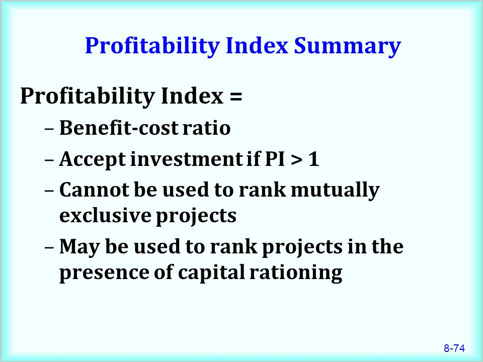 summary cost of capital The cost of capital cost of capital, discounts rates, and the required rate of  return - we know how to do capital budgeting problems, but what about the.