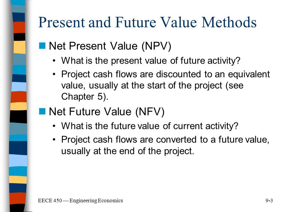 Present and Future Value Methods