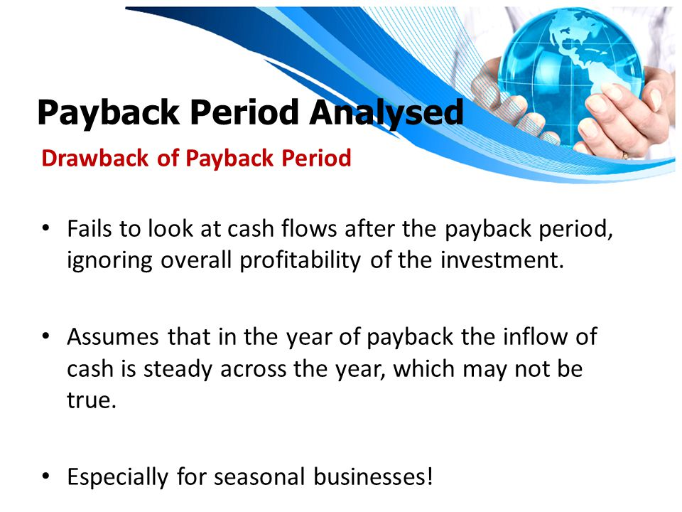 Payback Period Analysed