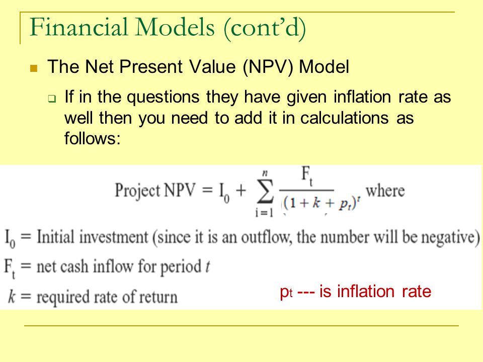 Advantages & Disadvantages of Net Present Value in Project Selection