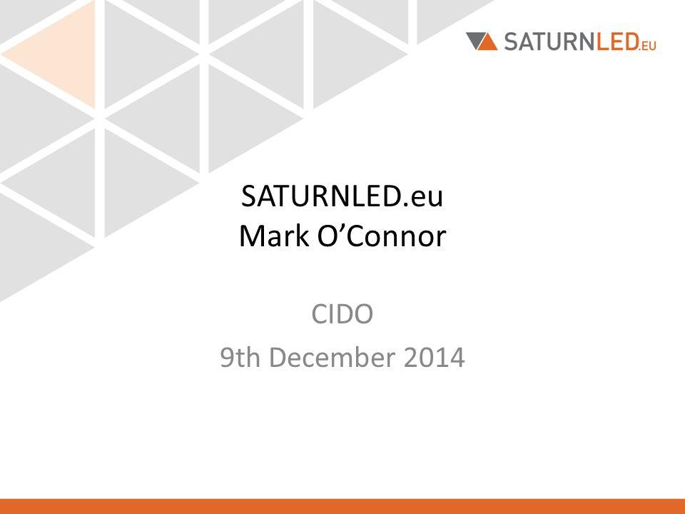 SATURNLED.eu Mark O'Connor