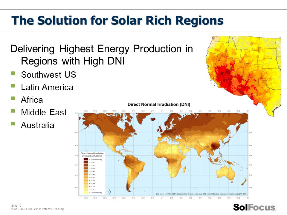 The Solution for Solar Rich Regions