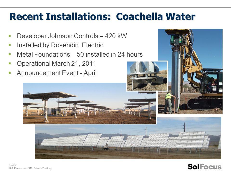 Recent Installations: Coachella Water