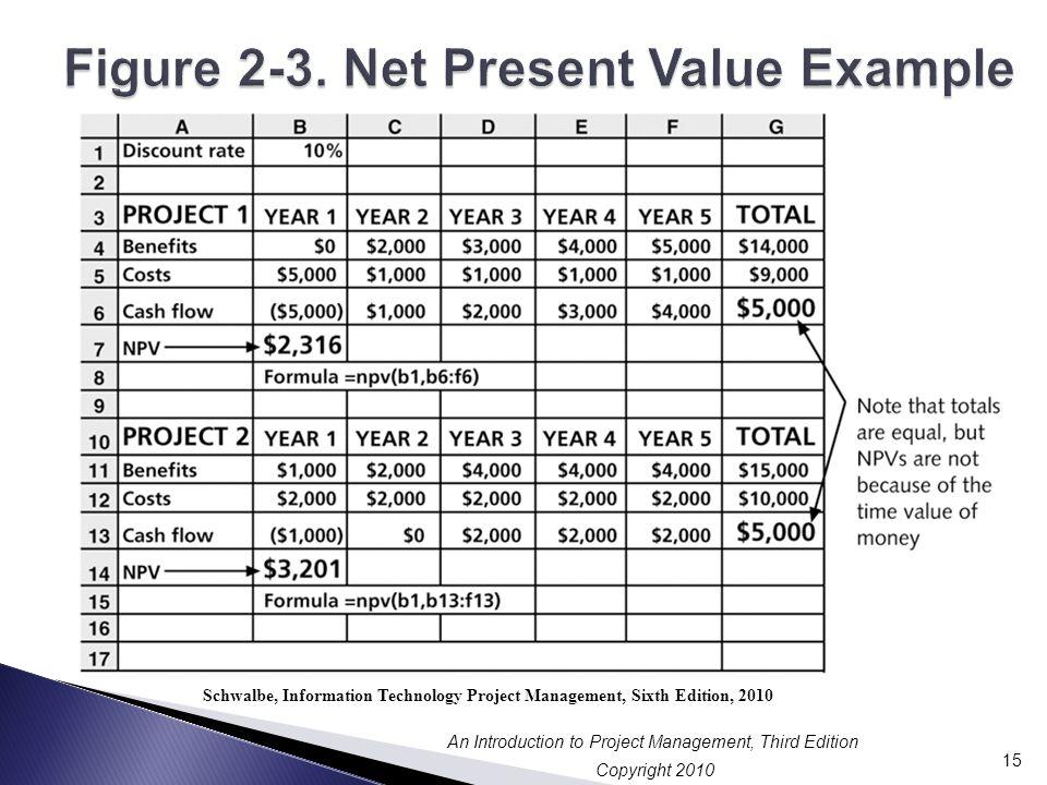 Figure 2-3. Net Present Value Example