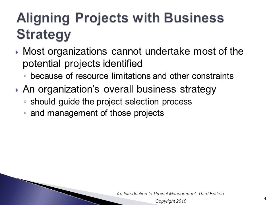 Aligning Projects with Business Strategy