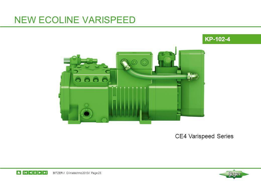 NEW ECOLINE VARISPEED KP-102-4 CE4 Varispeed Series