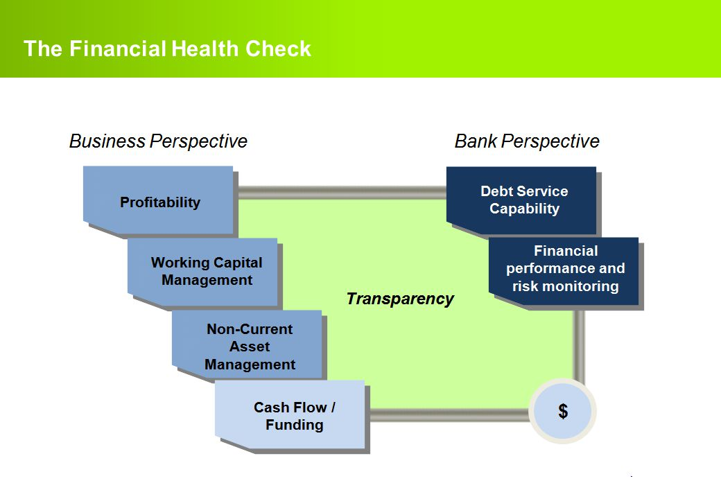 The Financial Health Check