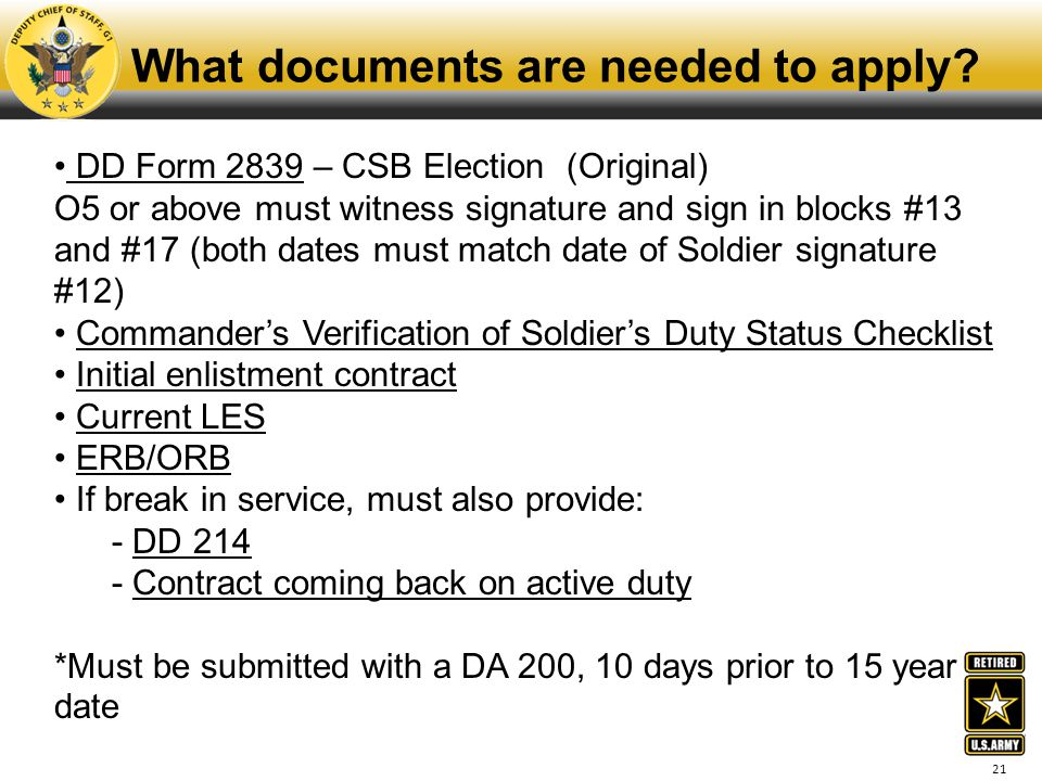 What documents are needed to apply