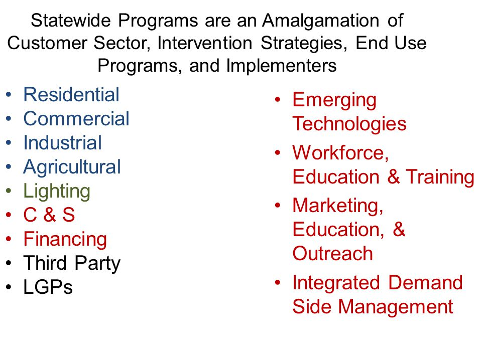 Emerging Technologies Workforce, Education & Training