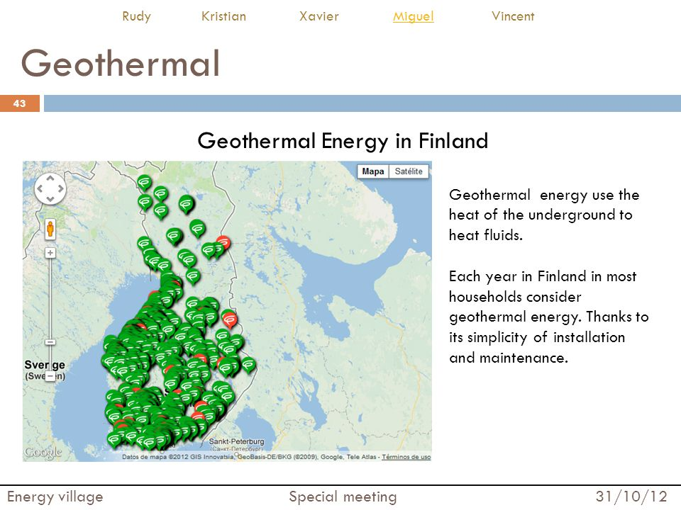 Geothermal Energy in Finland