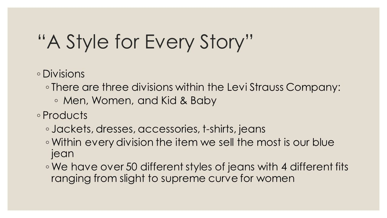 A Style for Every Story