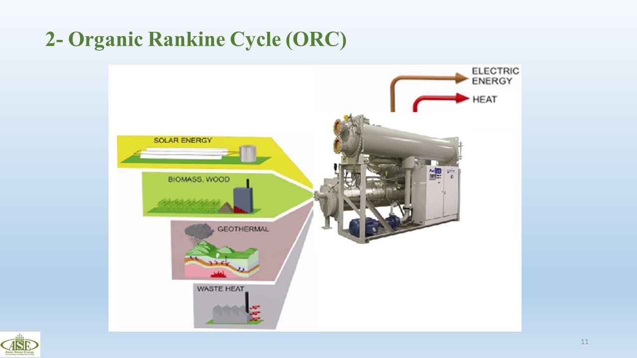 2- Organic Rankine Cycle (ORC)