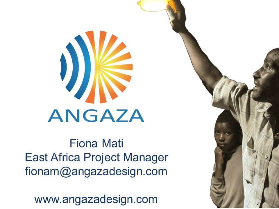 East Africa Project Manager