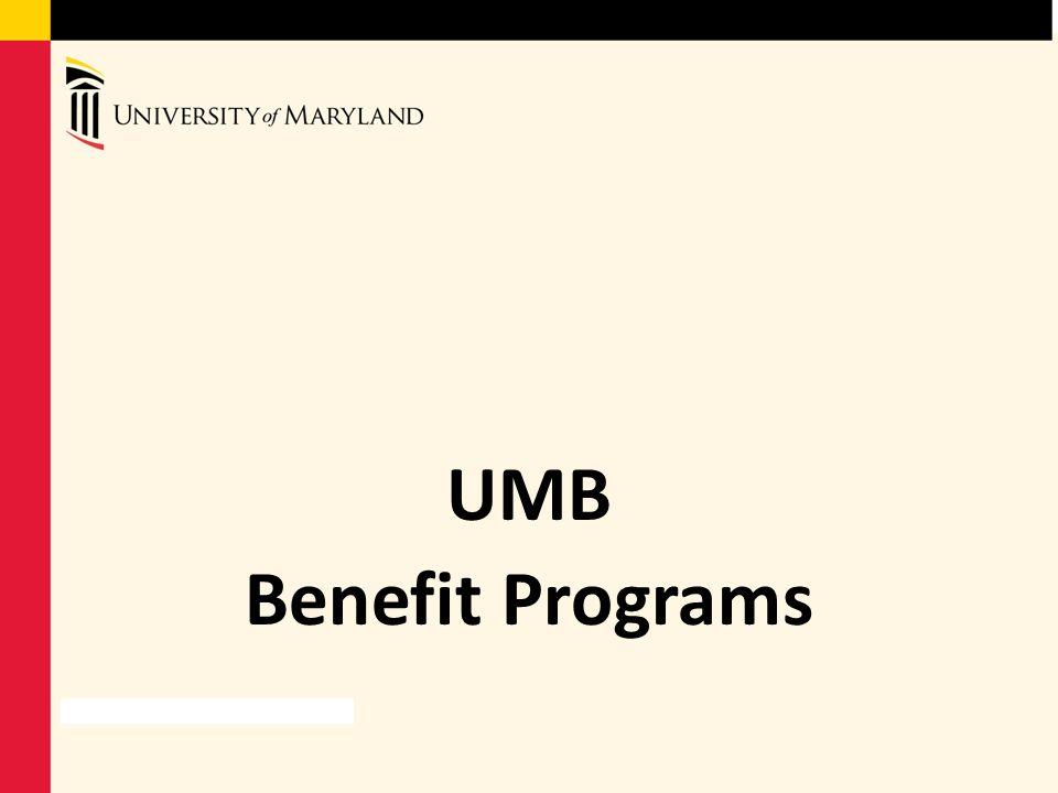 UMB Benefit Programs