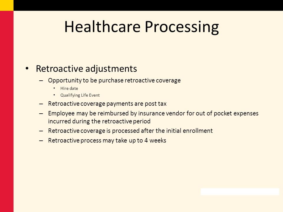 Healthcare Processing