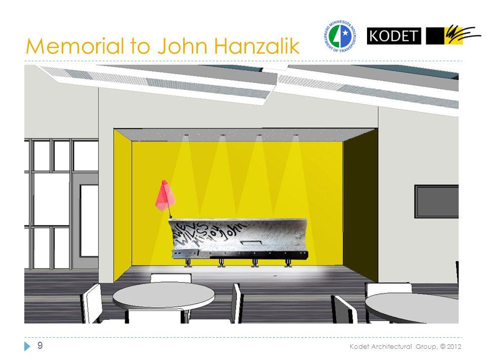 Memorial to John Hanzalik