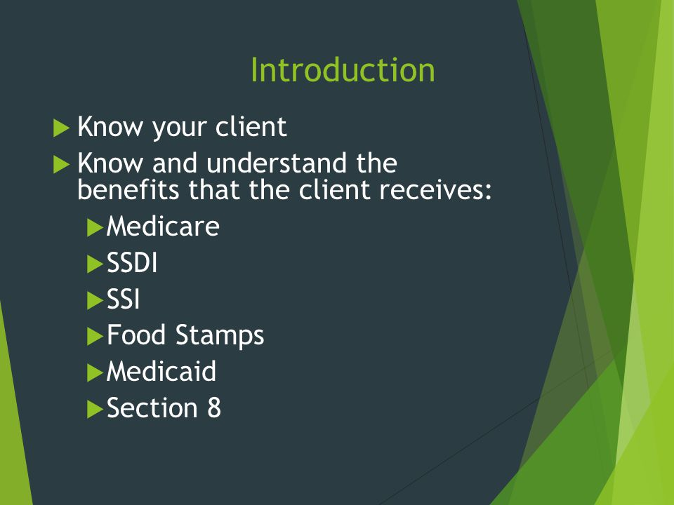 Introduction Know your client