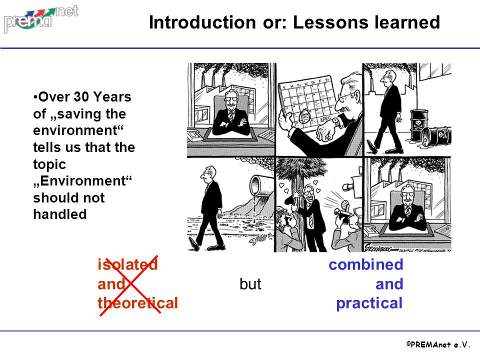 Introduction or: Lessons learned