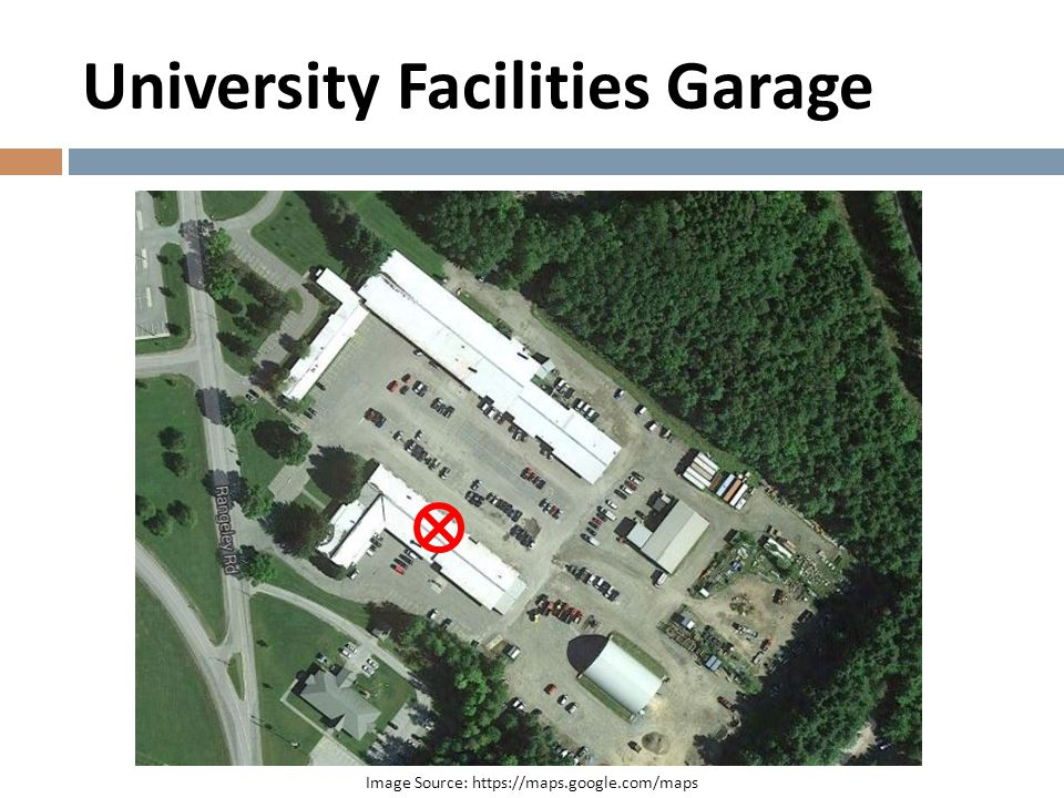 University Facilities Garage