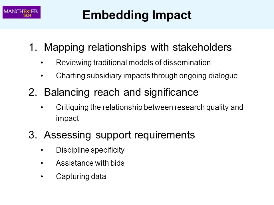 Embedding Impact Mapping relationships with stakeholders