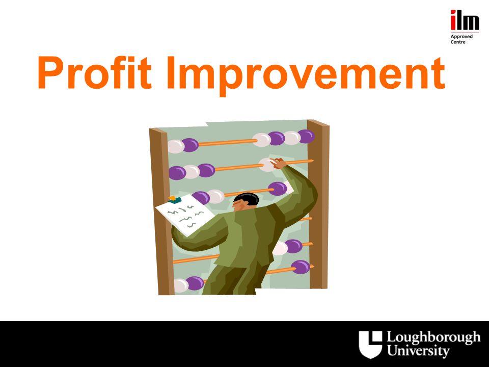 Profit Improvement