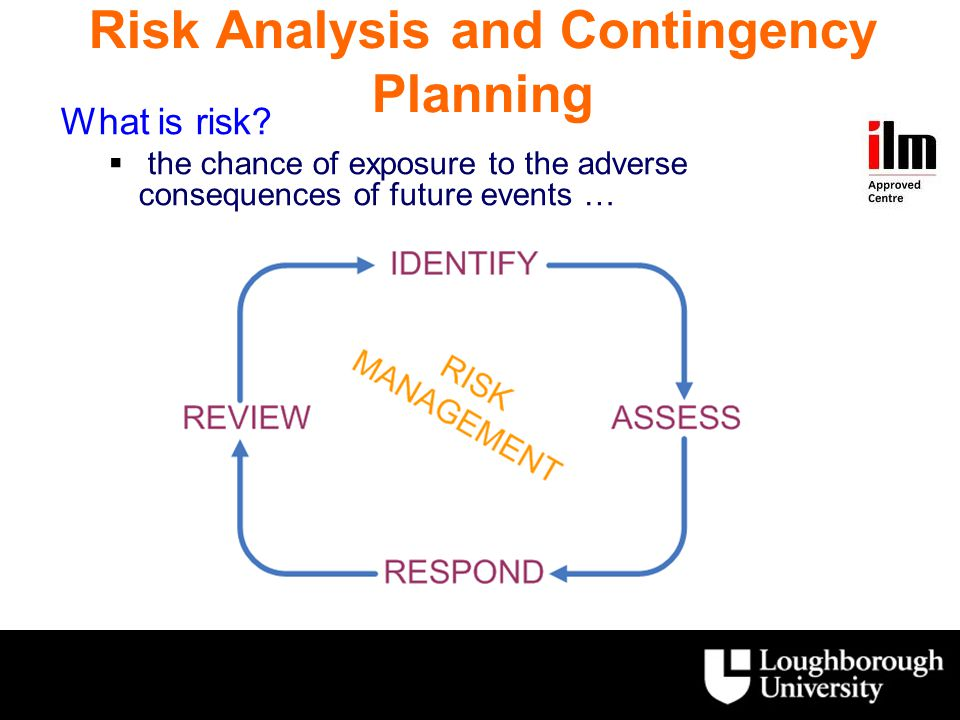 Risk Analysis and Contingency Planning