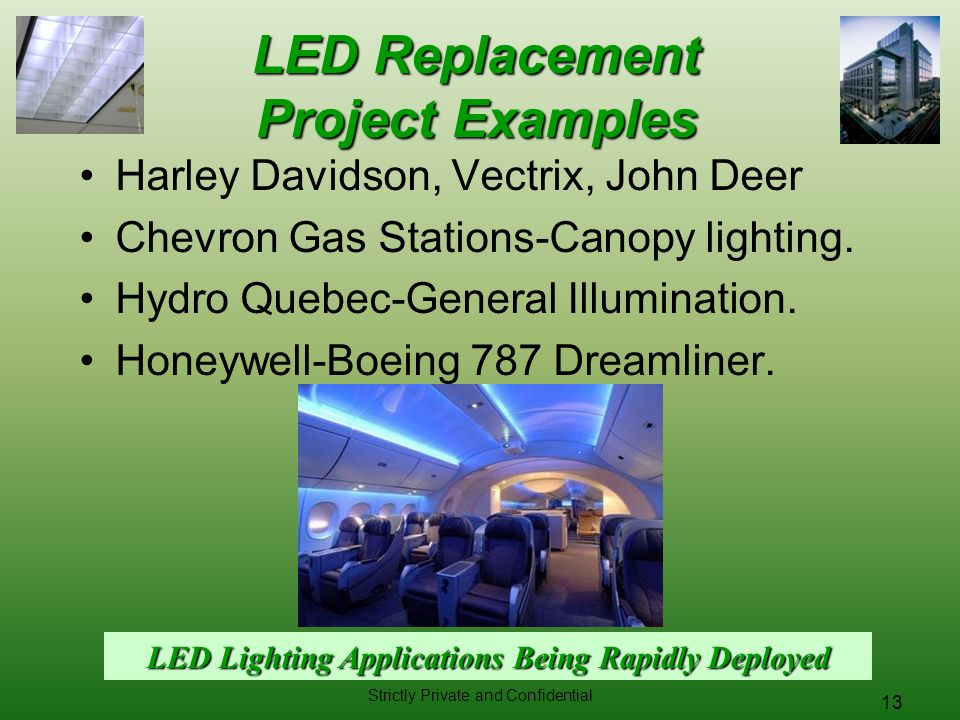 LED Replacement Project Examples